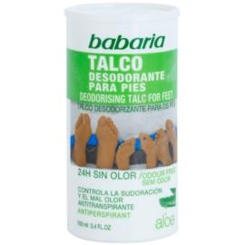 Babaria Aloe Vera púdrový deodorant na chodidlá  100 ml