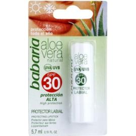Babaria Aloe Vera Lip Balm SPF 30  5,7 ml