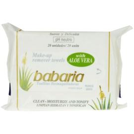 Babaria Aloe Vera Reinigungstücher mit Aloe Vera  20 St.