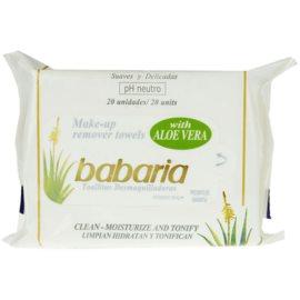 Babaria Aloe Vera čisticí ubrousky saloe vera  20 ks