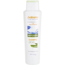 Babaria Anticaspa šampon proti lupům s aloe vera  400 ml