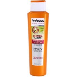 Babaria Argan šampon na ochranu barvy s keratinem a arganem  400 ml