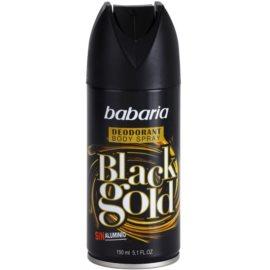 Babaria Black Gold spray dezodor  150 ml