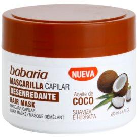 Babaria Coco maseczka nawilżająca do włosów  250 ml