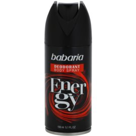 Babaria Energy deodorant ve spreji  150 ml