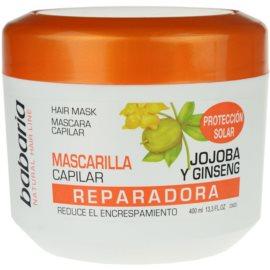 Babaria Ginseng maska pro poškozené, chemicky ošetřené vlasy  400 ml