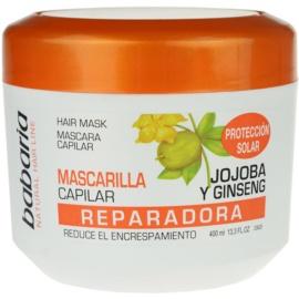 Babaria Ginseng maska za poškodovane in kemično obdelane lase  400 ml