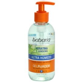 Babaria Ginseng gel na vlasy s keratinem  300 ml