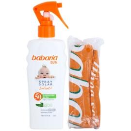 Babaria Sun Infantil spray pentru protectie solara pentru copii SPF 50 minge de plaja gratuita  150 ml