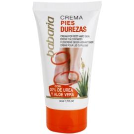 Babaria Feet Creme für aufgerissene Fersen  50 ml