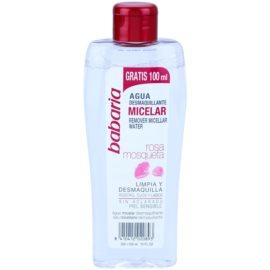 Babaria Rosa Mosqueta apa pentru  curatare cu particule micele pentru piele sensibila   300 ml