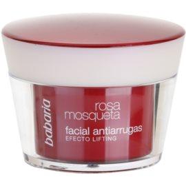 Babaria Rosa Mosqueta protivráskový krém s liftingovým efektem  50 ml