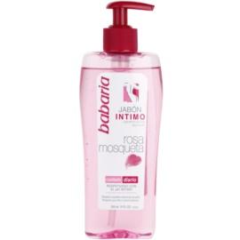 Babaria Rosa Mosqueta ženski gel za prhanje za intimno higieno z izvlečki divje vrtnice  300 ml
