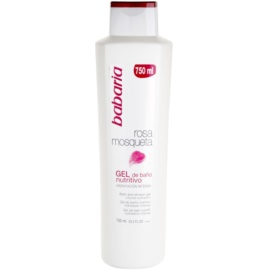 Babaria Rosa Mosqueta gel de duche with extracts of wild roses  750 ml