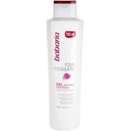 Babaria Rosa Mosqueta gel de ducha con extracto de rosal silvestre   750 ml