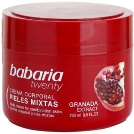 Babaria Twenty telový krém s granátovým jablkom  250 ml