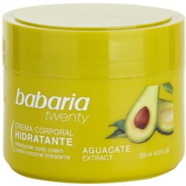 Babaria Twenty tělový krém s avokádem  250 ml