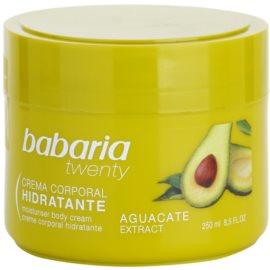 Babaria Twenty Körpercreme mit Avokado  250 ml