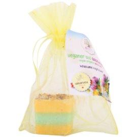 Bademeisterei Ecoworld Bath Cubes přípravek do koupele s čisticím účinkem luční květy  45 g