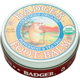 Badger Balm Deep Hydrating Balm for Dry Cracked Feet  56 g