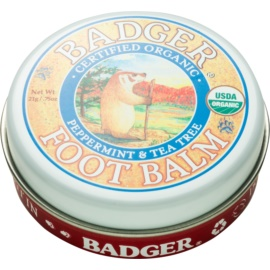 Badger Balm Deep Hydrating Balm for Dry Cracked Feet  21 g