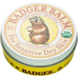 Badger Balm balzam za roke za občutljivo kožo brez dišav  56 g