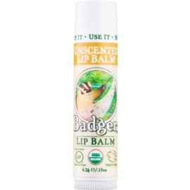 Badger Classic Unscented Lip Balm  4,2 g
