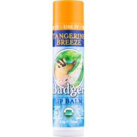 Badger Classic Tangerine Breeze baume à lèvres  4,2 g