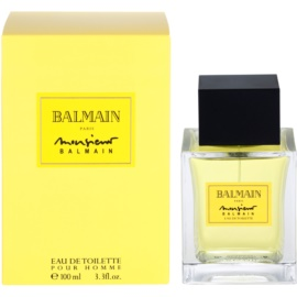 Balmain Monsieur Balmain Eau de Toilette for Men 100 ml