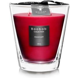 Baobab Masaai Spirit świeczka zapachowa  16 cm