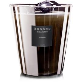 Baobab Les Exclusives Platinum bougie parfumée 16 cm