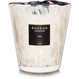 Baobab White Pearls Duftkerze  16 cm