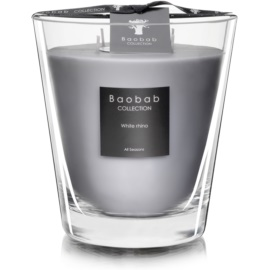 Baobab White Rhino Scented Candle 16 cm