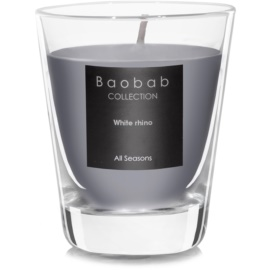 Baobab White Rhino Scented Candle   (votive)
