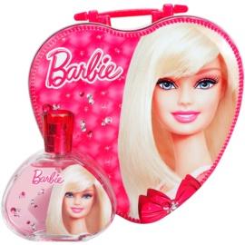 Barbie Barbie set cadou I. Apa de Toaleta 100 ml + caserolă de mâncare