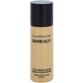 BareMinerals bareSkin® aufhellende Serum-Basis SPF 20 Farbton Bare Buff 10 30 ml