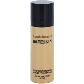 BareMinerals bareSkin® rozjasňující podkladové sérum SPF 20 odstín Bare Buff 10 30 ml