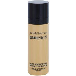 BareMinerals bareSkin® Fundatia serului lucios SPF 20 culoare Bare Buff 10 30 ml