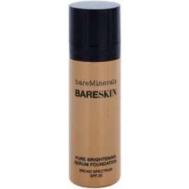 BareMinerals bareSkin® Fundatia serului lucios SPF 20 culoare Bare Latte 11 30 ml