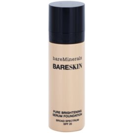 BareMinerals bareSkin® aufhellende Serum-Basis SPF 20 Farbton Bare Satin 06 30 ml