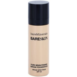 BareMinerals bareSkin® Fundatia serului lucios SPF 20 culoare Bare Satin 06 30 ml