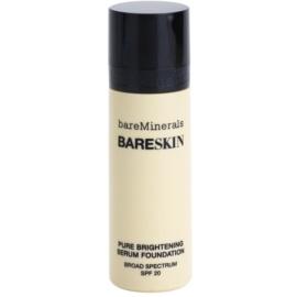 BareMinerals bareSkin® Fundatia serului lucios SPF 20 culoare 05 Bare Cream 30 ml