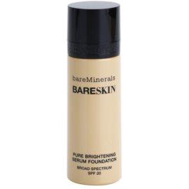 BareMinerals bareSkin® Fundatia serului lucios SPF 20 culoare 07 Bare Natural 30 ml