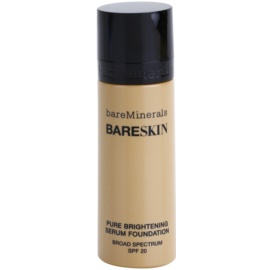 BareMinerals bareSkin® Fundatia serului lucios SPF 20 culoare 08 Bare Beige 30 ml