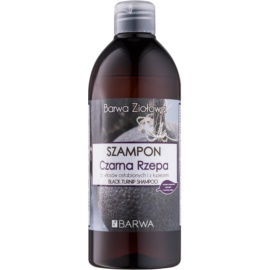 Barwa Herbal Black Turnip šampon proti prhljaju za šibke lase  480 ml