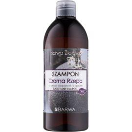 Barwa Herbal Black Turnip Shampoo gegen Schuppen für geschwächtes Haar  480 ml