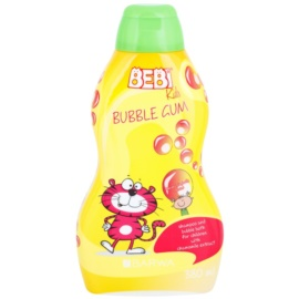 Barwa Bebi Kids Bubble Gum Shampoo und Badeschaum 2 in 1  380 ml
