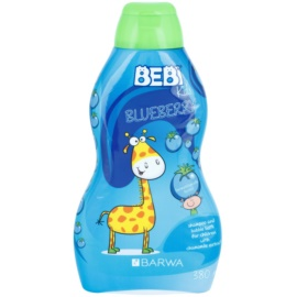 Barwa Bebi Kids Blueberry šampón a pena do kúpeľa 2 v 1  380 ml