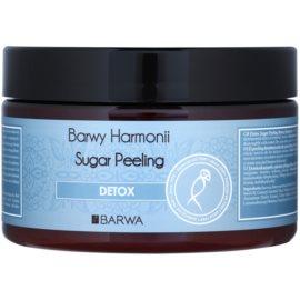 Barwa Harmony Detox Zuckerpeeling mit reinigender und schützender Wirkung Bamboo & Sugar Cane Extract 250 ml