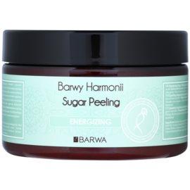 Barwa Harmony Energizing cukrový peeling s regeneračným účinkom Guarama & Orange Extract 250 ml